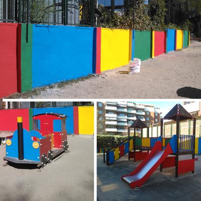 Pintura decorativa de zona infantil