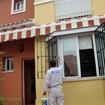 Pintura decorativa de fachadas