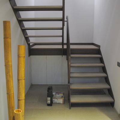 Pintura en escaleras