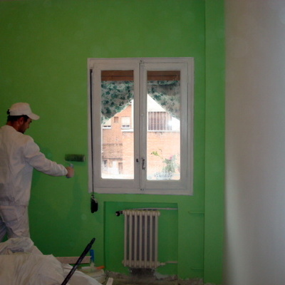 Pintura   en una casa