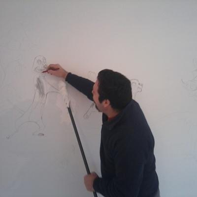 pintura habitación niño