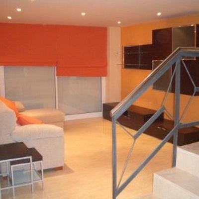 Salón-comedor. Apartamento. Sevilla.
