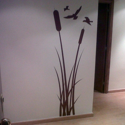 pintura y vinilo