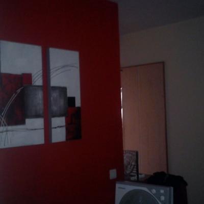 Pinturas en salón