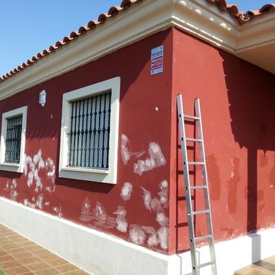 Pinturas exterior chalet