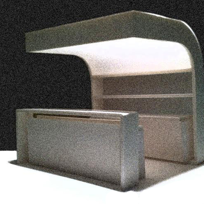 Prototipo de Barra de Bar para exterior