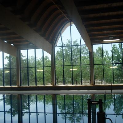 piscina cubierta.