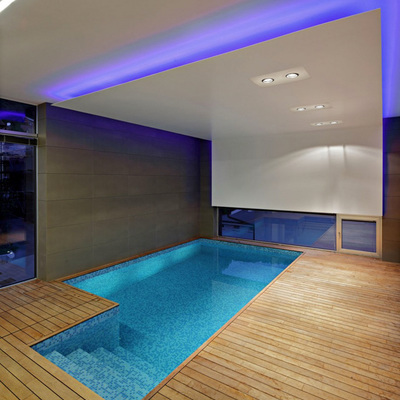 piscina de obra interior