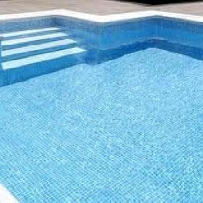 piscina de obra nueva