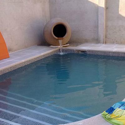 Chorro piscina