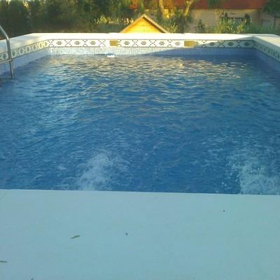 Reparación y actualización de piscina