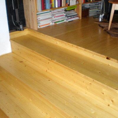 Piso y suelo de madera