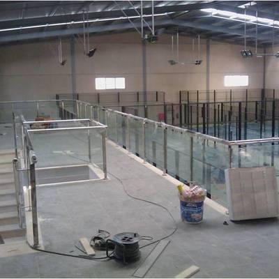 vista interior nave para pistas de pádel en jerez de la frontera (padel XTREM)