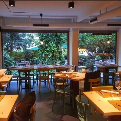 Interior restaurante Madrid
