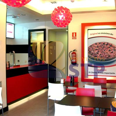 Pizzeria por STP PROYECTOS