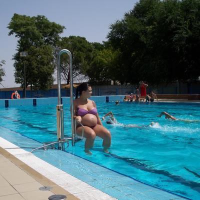 Elevador de piscinas