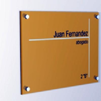 Placa de empresa