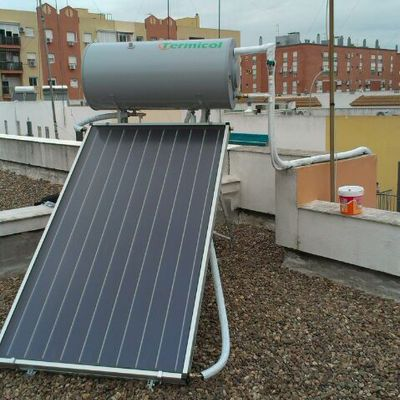 placa solar termosifón