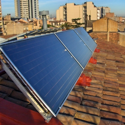 placas solar termica