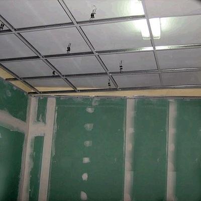 Pladu impregnado y techo de guia.