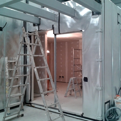 Pladur en casas modulares