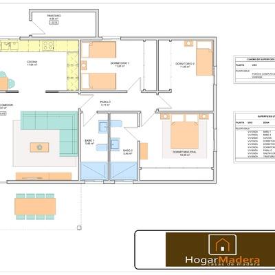Planos Proyecto Casa de Madera