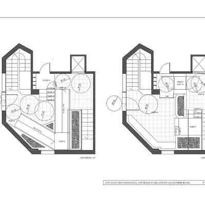 Estudio mejora accesibilidad en edificios. Instalación ascensor