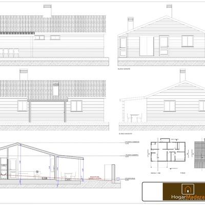 Plano Casas de Madera