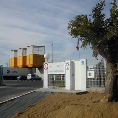 Planta de transferencia de residuos. DAU arquitectos.