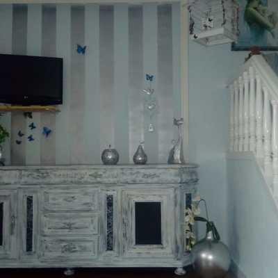 mueble antiguo renovado