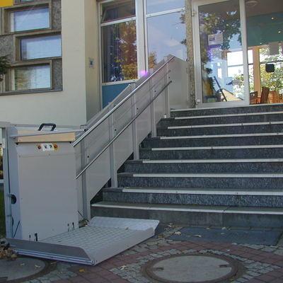 Plataforma Diagonal Recta Exterior