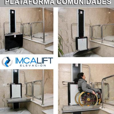 Plataforma elevadora para comunidades vecinos