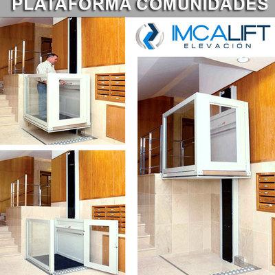 Plataforma elevadora para portales, comunidades vecinos