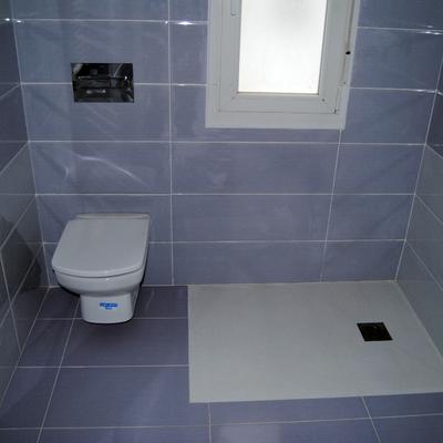 Plato de ducha a ras de suelo