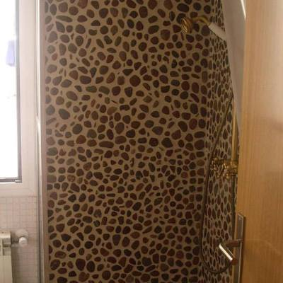 plato de ducha de canto rodado