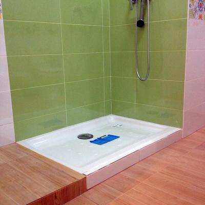 Plato de ducha porcelanico