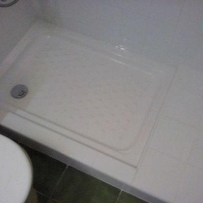 plato ducha y base decorativa