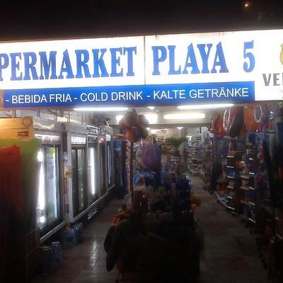 Supermarket Playa5