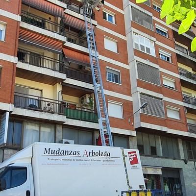 Mudanza plaça Joan Alsina, Cardedeu