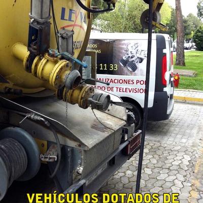 Vehículos equipados con cámaras de inspección
