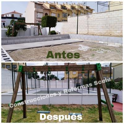 Construcción de polideportivo para Comunidad de vecinos