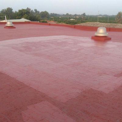 impermeabilizacion de cubierta con membrana de poliuretano