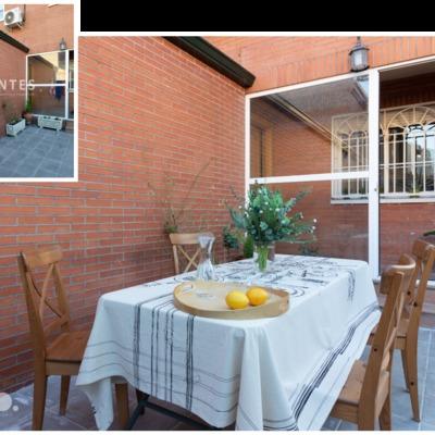 POMO. Home Staging. Loranca, Madrid. Acceso vivienda adosada