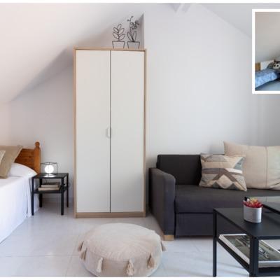 POMO. Home Staging. Loranca, Madrid. Buhadilla dormitorio doble