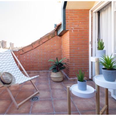 POMO. Home Staging. Loranca, Madrid. Terraza