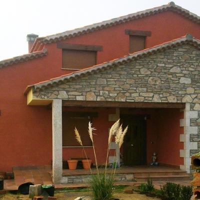 Porche Casa aislada Almeida de Sayago
