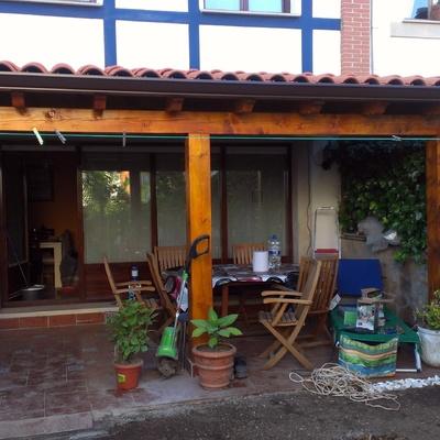 Porche en Jardin 2