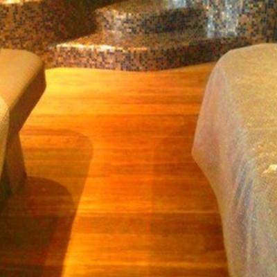Instalación de Tarima de Bambú en Hotel Kempinski Estepona