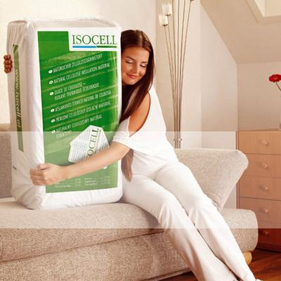 Portada de la celulosa ecológica ISOCELL.