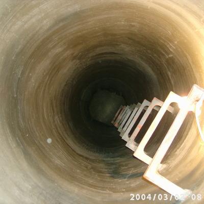 construccion de pozo de 22m de profundidad